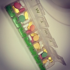 Weekly pill pack