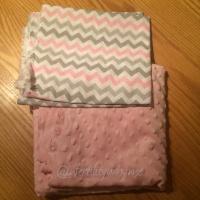 pink minky fabric
